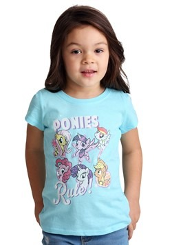 Toddler Girl's My Little Pony Ponies Rule T-Shirt