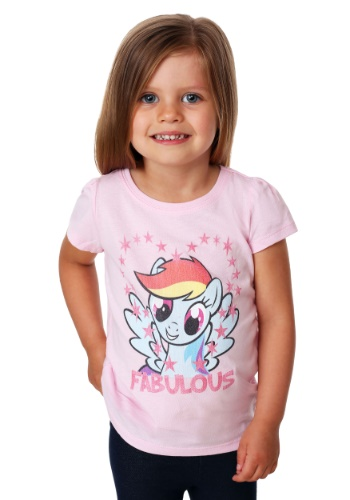 Girl's Toddler My Little Pony Rainbow Dash T-Shirt