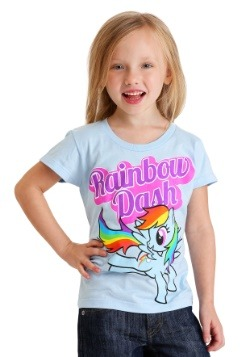 Girl's Kids My Little Pony Rainbow Dash T-Shirt