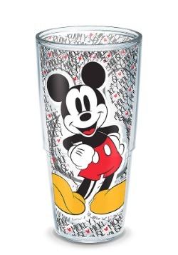 Tervis Disney Mickey Mouse Name Pattern 24oz Tumbler