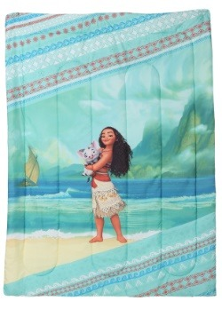 Moana The Wave Twin Comforter with Sham4