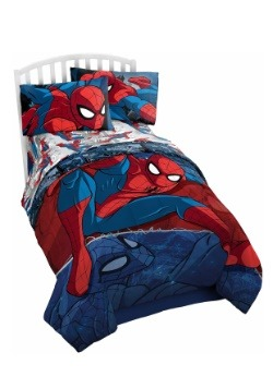 Spiderman Burst Twin Comforter