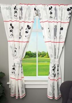 "Mickey Mouse Jersey 63"" Drapes"