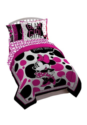 Minnie Mouse Rock The Dots Twin/Full Comforter