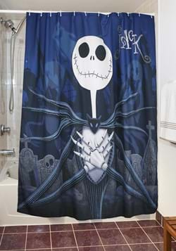 Nightmare Before Christmas Moonlight Madness Shower Curtain