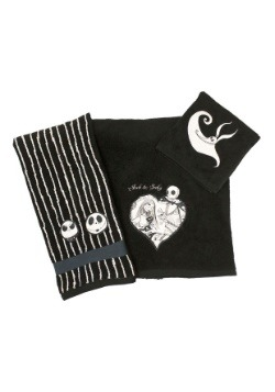 Nightmare Before Christmas Meant To Be 3-Piece Towel Set