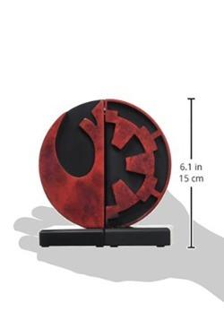 Star Wars Imperial/Rebel Bookends alt 3