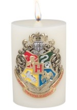 Harry Potter Hogwarts Sculpted Insignia Candle