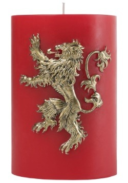 Game of Thrones Lannister Sigil Insignia Candle