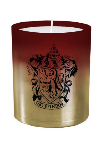 Harry Potter Gryffindor Glass Candle