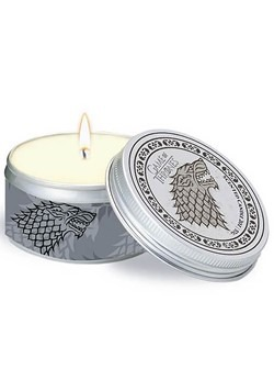 Game of Thrones House Stark Scented Candle