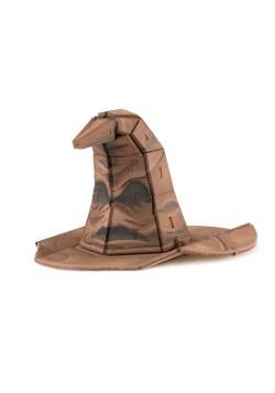 Harry Potter Sorting Hat 3D Wood Model & Book alt 3
