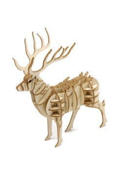 Harry Potter Stag Patronus 3D Wood Model & Book