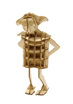 Harry Potter Dobby 3D Wood Model & Book