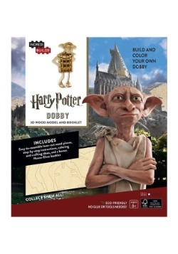 Harry Potter Dobby 3D Wood Model & Book