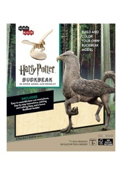 Harry Potter Buckbeak 3D Wood Model & Book