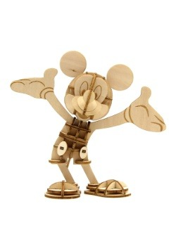 Mickey Mouse 3D Wood Model & Book