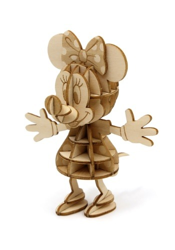 Minnie Mouse 3D Wood Model & Book