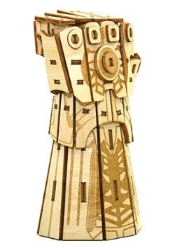 Marvel Thanos Infinity Gauntlet 3D Wood Model & Book
