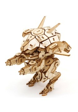 Overwatch: D.Va's Mech 3D Wood Model & Poster1