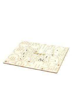 Alpaca 3D Wood Model & Book alt 1