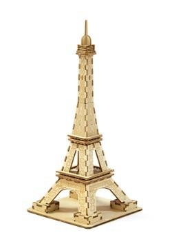 Paris Eiffel Tower 3D Wood Model1