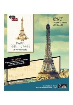 Paris Eiffel Tower 3D Wood Model