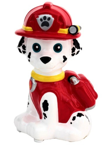 Paw Patrol Marshall Ceramic Coin Bank