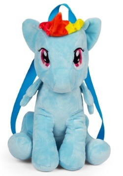 Rainbow Dash My Little Pony Plush Backpack