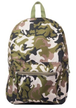 "Kids Camo Print 17"" Backpack"