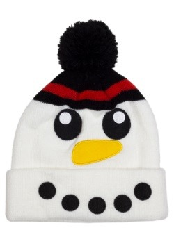 Kids Snowman Cold Weather Stocking Cap