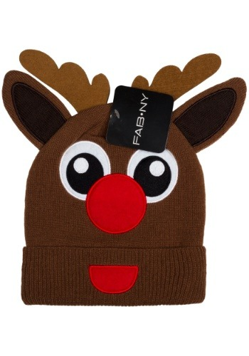 Kids Rudolph Cold Weather Stocking Cap