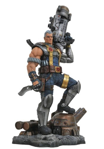 Marvel Premier Cable Statue