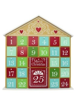 Gingerbread Theme Christmas Advent Calendar