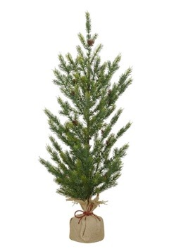 "36"" Burlap Base Christmas Pine Tree"