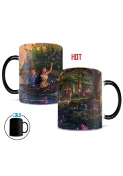 Disney Pocahontas Thomas Kinkade Morphing Mug