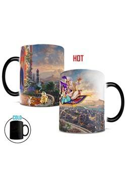 Disney Aladdin Thomas Kinkade Morphing Mug