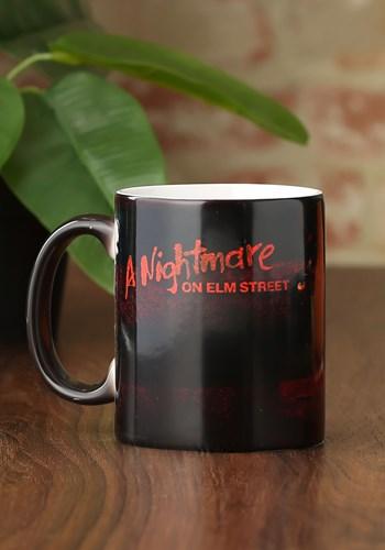 A Nightmare on Elm Street Glove & Shirt Morphing Mug