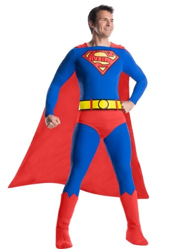Mens Classic Premium Superman Costume