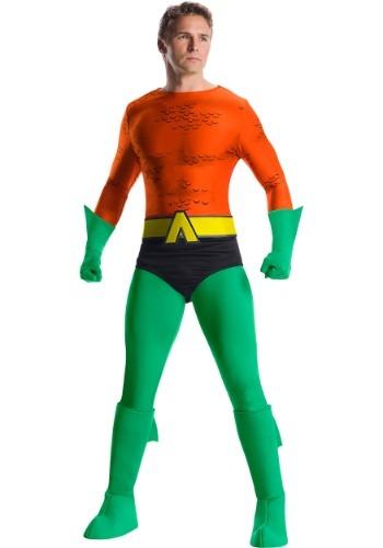 Mens Classic Premium Aquaman Costume