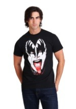 KISS Gene Simmons Crazy Tongue Men's T-Shirt