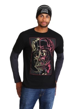 5c5c4a7106c Star Wars Darth Vader Mens Long Sleeve Shirt and Beanie