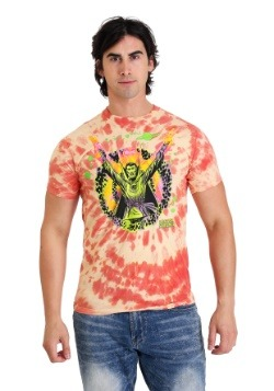 Doctor Strange Orange Spiral Psychadelic Mens T-Shirt