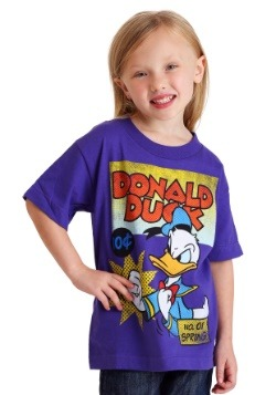 Walt Disney's Donald Duck Boys Purple T-Shirt