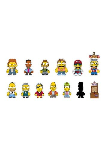 The Simpsons Moe's Tavern Mini Series Blindbox Figures