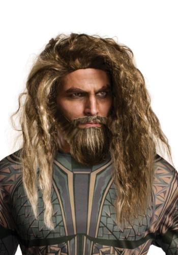 Adult Aquaman Beard and Wig Set