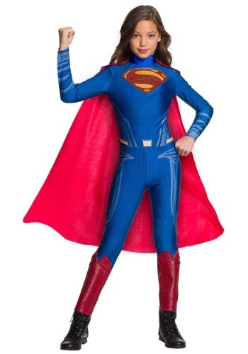 Superman Jumpsuit For Girls