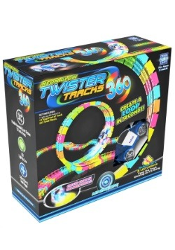 Neon Glow Twister Tracks 360 Loop w/ Light up Vehicle