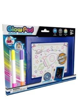 Mindscope Glow Pad Blue Light Up Writing Board