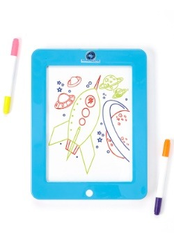 Mindscope Glow Pad Blue Light Up Writing Board